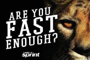 sprint fast enough